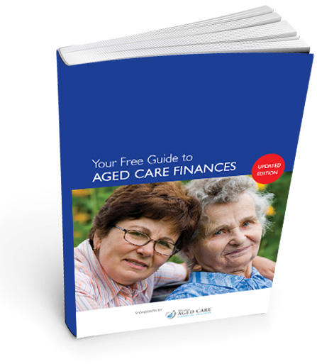 aged care fees and RAD guide